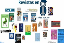 Magazines in the repository Saber UCV / by Saber Ucv