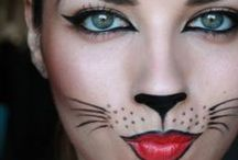 Halloween Spooky make-up & costumes / How to, for creepy costumes and make-up for halloween / by Francoise Lavergne
