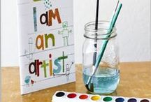 Children's art / Every child is an artist and deserves to be encouraged to express themselves every day / by Francoise Lavergne