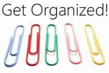 Getting Organized in the Home / How to get on top of things and de-clutter your home. An organized environment makes for less chaos, more peace of mind, and a serene space you can enjoy. / by Francoise Lavergne