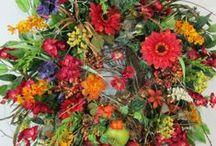 Fall Wreaths For Sale / by Ladybug Wreaths, Nancy Alexander