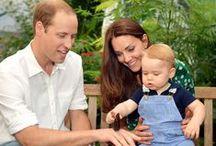 Prince William / Princess Kate / Prince George / by Chie Fujimoto