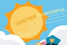 Weather Wonderful / Welcome to Summer Learning Adventures! Join us this summer for free activities, projects, and games for DIY campers and parents. DIY campers will use the power of the sun and wind to do activities that are all about summer weather! Try these fun summer weather projects, then listen to the sound of a homemade windchime as you sip on cool sun tea. Learn more here: http://edcate.co/1tUg6sU / by Education.com