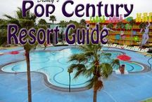 Disney's Pop Century Resort / Disney's Pop Century Resort - a fun Disney Value Resort hotel at Walt Disney World Resort / by The Magic For Less Travel - Specializing in Disney and Universal Vacations