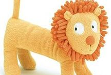 Plush Toys  / These soft and cuddly plush friends will soon become their favorite companions. / by Creative Kidstuff