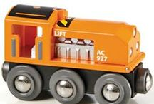 Toy Trains / All Aboard! Now departing Station Imagination! / by Creative Kidstuff