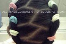 Hairstyles for little girls / by Nakia Torrence