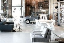 Industry & Life / Decoration Interieur Living Industrial Style Life Furniture Inside  / by @m manufactory