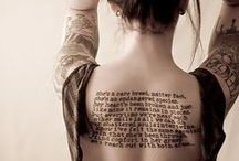 Literary/Book Tattoos / by Random House of Canada