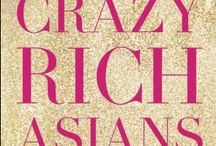 Crazy Rich Asians / CRAZY RICH ASIANS by Kevin Kwan is the outrageously funny debut novel about three super-rich, pedigreed Chinese families and the gossip, backbiting, and scheming that occurs when the heir to one of the most massive fortunes in Asia brings home his ABC (American-born Chinese) girlfriend to the wedding of the season.  http://www.randomhouse.ca/books/222866/crazy-rich-asians-by-kevin-kwan / by Random House of Canada