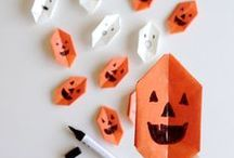 Halloween Crafts + Decorations / Spooky fun for Halloween with DIY crafts, handmade costumes, part ideas, and more! / by Handmade Charlotte