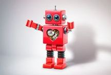 Robot love / I LOVE robots. / by Shelbot Solhaug