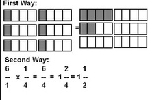 fractions / FRACTIONS IS A MAJOR PART OF LEARNING MATH! VISIT MY BOARD AND GET INSPIRED! HAPPY MATHING, DR. NICKI / by Nicki Newton