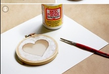craft night / Ideal for groups: minimal and inexpensive supplies, simple directions, and quick results. / by Danielle