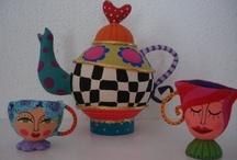 Teapots, tea anybody? / by Vered Bar