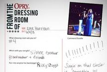 From the Dressing Rooms of the Stars / by Grand Ole Opry