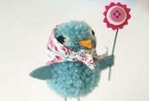p o m  p o k o / Pom Pom Crafts / by MaDonna Flowers Sheehy