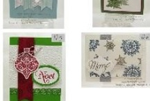 Cards - Stampin' Up Christmas / by Gail Malec