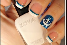 Nail Colours and Designs / instructional pix and ideas for future nails. / by Jessica Guerrero