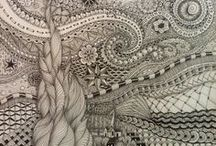 tangled  in pattern / by Christy O