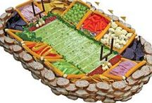 Super Bowl Party Ideas / Inspiration to plan a get-together with football themed food and decor for the big game! / by Fabri-Quilt, Inc.