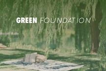 GREEN FOUNDATION / Anne Fontaine Foundation created by Anne Fontaine designer in 2011 encourage reforestation and concentrate its financial resources specifically on the protection of the Atlantic Rainforest in Brazil.  www.annefotainefoundation.com  / by Anne Fontaine