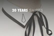 20 YEARS SHIRTS / by Anne Fontaine