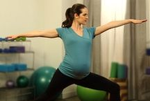 Pregnancy Fitness / Note: These are personal exercises I think are safe for myself to do during pregnancy. They may not in fact be safe to do during pregnancy, so please check with your doctor before doing any exercises during pregnancy.  / by Abigail (Baumann) Wangler