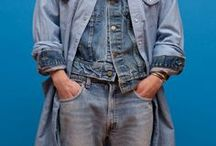 A World Of Denim / workwear  / Denim I love ❤️ for cool girls and handsome men  / by Tine Lauridsen