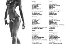 fitness AND HEALTH / by Jennifer Mccomas Weimer