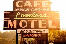 Retro Motel/Diner Signs & Postcards / by Agi