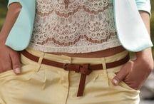 Fashion Inspiration / Clothing...all sorts / by Krista DeSocio
