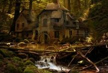 Cabins, Cottages and More / by Robin D