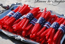 4th of July! / I'm proud to be an American! / by Sarah Dail