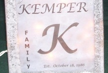 Kemper Creations (Things Made by Myself or Laura) / by Angie Kemper