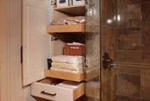SMALL SPACE SOLUTIONS / Some great ideas for college students also. / by Rebecca McCray