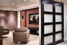 MEDIA-LIBRARY ROOM / Ideas for my media-library room / by Rebecca McCray