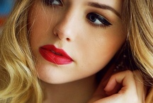 hair + makeup / by Kelly Hansen