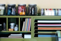 {Scrap Goodies} Craft Storage Idea's / Some AMAZING idea's to have a perfect, organised & clean craft room!
