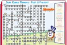 Dum Dums Activities for Kids / If you love Dum Dums, you'll love Dum Dums activities! Coloring pages, printable mazes, games & more! We've got it all! / by Spangler Candy