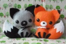 Softy Creations / A plush is happiness in the form of cotton and thread / by Rebecca Zamora