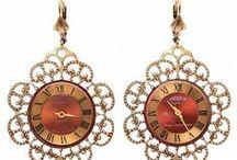 Godesign Jewelry  / My handmade steampunk jewelry with old watch movements / by Zlatina Gocheva