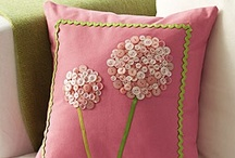 Perfect Pillows / The perfect way to add a punch of color or a bit of whimsy to a favorite room. / by Toni Frizell