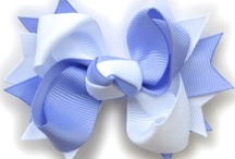Hair Bows / Hair bows to make for my beautiful nieces. / by Toni Frizell