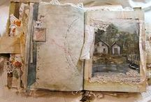 Altered Books and Journals / by Cindy Freed /Genealogy Circle