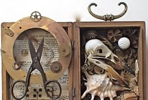 Assemblage Art / Assemblage Art Is my second passion, tied with Art, in general! From the collecting, to the assembling, and creating these images, and stories through objects! Love! / by Simone Marie