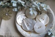 Buttons / Antique,Vintage and Collectible Buttons / by Terri Klugh