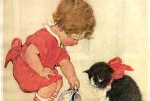 Black Cats | Advertising / Black Cats in Vintage Advertising - Prints,  Ads, Posters, Sheet Music and Magazines / by Terri Klugh