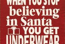 CHRISTMAS SANTA'S / by Debra McCloud