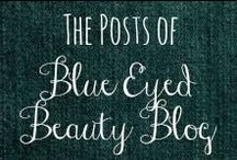 Blue Eyed Beauty Blog / These pins are from posts I have made on my blog. I hope you enjoy them! / by Helen Stafford